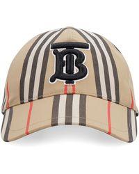 Burberry Cappello da baseball con logo - Neutro