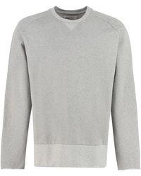 Universal Works - Cotton Crew-neck Sweatshirt - Lyst