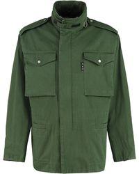 Off-White c/o Virgil Abloh - Multi-pocket Cotton Jacket - Lyst