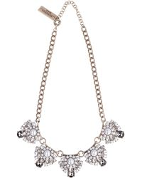 Weekend by Maxmara Pearls And Crystals Choker - Multicolor