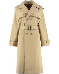 A.P.C. Simone Cotton Trench Coat - Natural