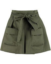 RED Valentino Gonna-pantalone con cintura - Verde