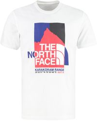 The North Face Printed Cotton T-shirt - White