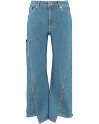 Lanvin High-waist Wide-leg Jeans - Blue