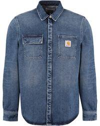 Carhartt Long Sleeve Denim Shirt - Blue