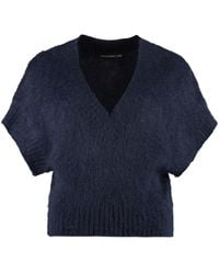 Department 5 Jane Knitted Top - Blue