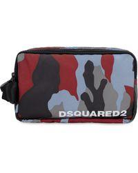 DSquared² Nylon Wash Bag - Multicolour