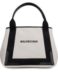 Balenciaga Tote bag Cabas in canvas - Nero