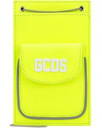 Gcds Technical Fabric Neckpack - Yellow