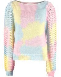 LoveShackFancy Rosie Knit Pullover - Multicolour
