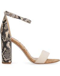 Sam Edelman Yaro Heeled Sandals - Multicolor