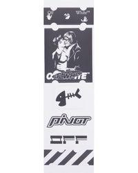 Off-White c/o Virgil Abloh Kiss 21 Stickers Set - Multicolor