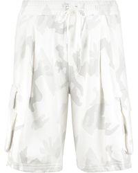 Dolce & Gabbana Printed Sweatshorts - White