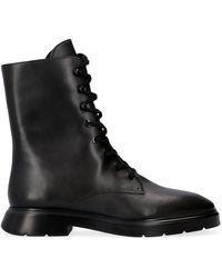 Stuart Weitzman Mckenzee Laced Boot - Black