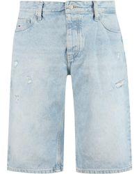 Tommy Hilfiger Denim Bermuda Shorts - Blue
