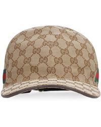 Gucci - Web-stripe Gg-logo Baseball Cap - Lyst