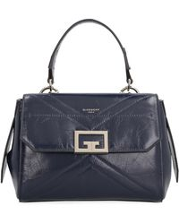 Givenchy Borsa ID piccola in pelle - Blu