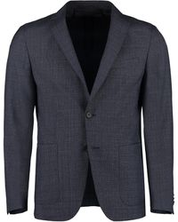 BOSS by Hugo Boss - Single-breasted Two-button Blazer - Lyst