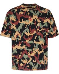 424 Printed Cotton T-shirt - Multicolour