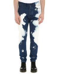 CALVIN KLEIN JEANS EST. 1978 Straight Leg Jeans - Blue