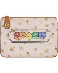 COACH Busta piatta stampata - Multicolore