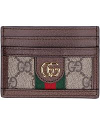 Gucci Ophidia Card Holder - Natural