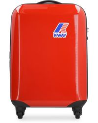 K-Way System Mini Abs Trolley With 4 Wheels - Red