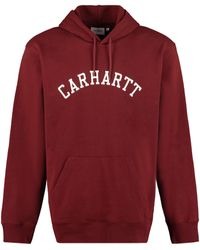 Carhartt Cotton Hoodie - Red