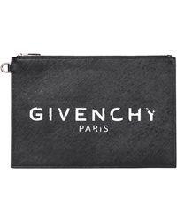 Givenchy Busta piatta in nylon - Nero