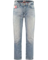 Tommy Hilfiger Tapered Fit Jeans - Blue