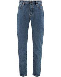 Nanushka Jeans slim fit Ilya - Blu