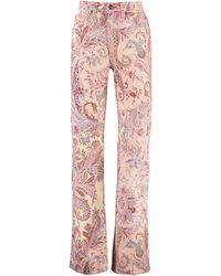 Etro Jeans 5 tasche - Rosa