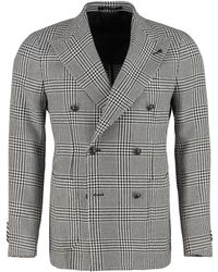 Tagliatore Double-breasted Jacket - Gray