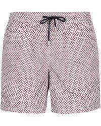 Drumohr Printed Swim Shorts - Multicolour