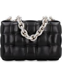 Bottega Veneta - The Chain Cassette Intrecciato Leather Shoulder Bag - Lyst