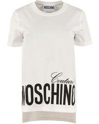 Moschino T-SHIRT COUTURE - Bianco