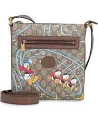 Gucci Messenger Bag With Logo - Donald Duck Disney X - Multicolor