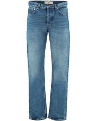 Séfr 5-pocket Straight-leg Jeans - Blue