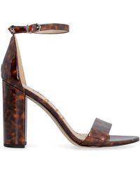 Sam Edelman Yaro Heeled Sandals - Brown