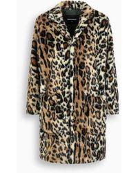 DSquared² - Faux Leopard Fur - Lyst