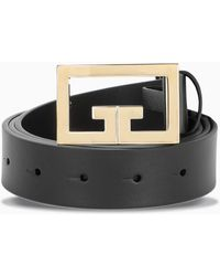Givenchy Cintura con placca logo - Nero