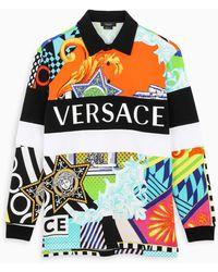 Versace POLO UOMO A87193A236036A7000 MULTICOLOR - Multicolore