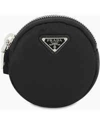 Prada Nylon Necklace Bag - Black