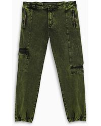 A_COLD_WALL* Military Green Cargo Jeans