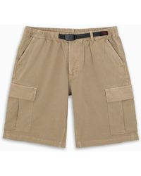 Gramicci Belted Cargo Shorts - Natural