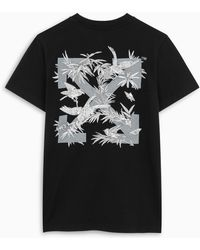 Off-White c/o Virgil Abloh - TM T-shirt Birds Reflective nera - Lyst