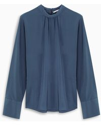 Stella McCartney Blue Lagoon Silk Shirt