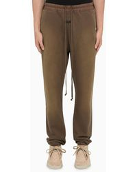 Fear Of God Pantalone jogging marrone vintage
