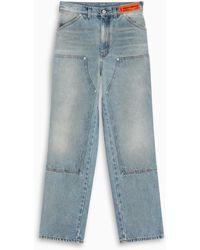 Heron Preston Jeans a gamba dritta - Blu