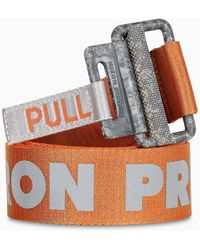 Heron Preston Orange Tape Belt - Multicolour